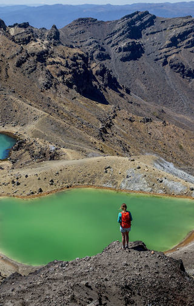 Tongariro Alpine Crossing is ranked the world top 10 for one-day walks, because what you'll see is well and truly awesome.