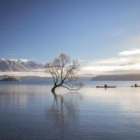 Enjoy an early morning paddle on Lake Wanaka