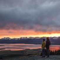 Sunset at Tekapo