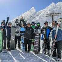 Hitting the slopes at Whakapapa