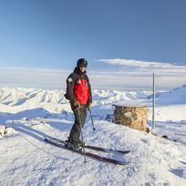 VIews from the top at Mt Hutt Ski Area