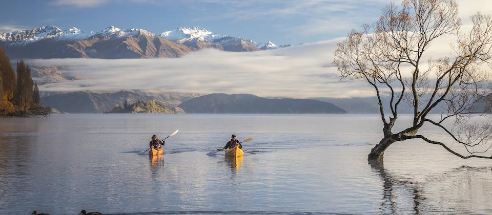 Kayaking Lake Wanaka