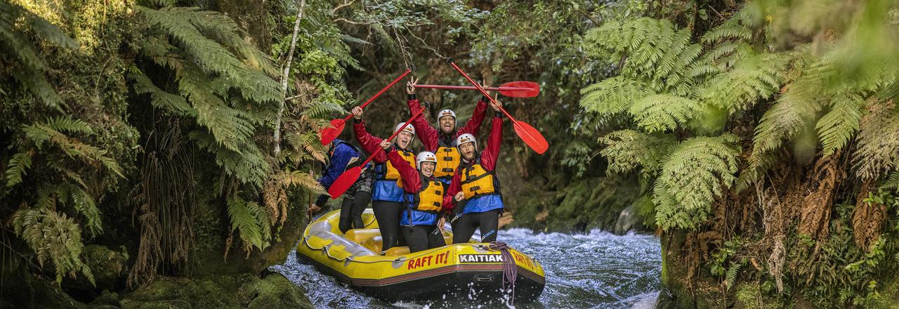 Rafting, Kaitiaki Adventures