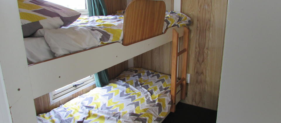 Bunks in motel 1