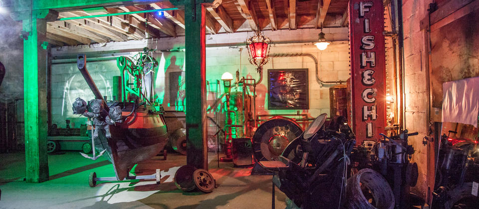 Inside Steampunk HQ
