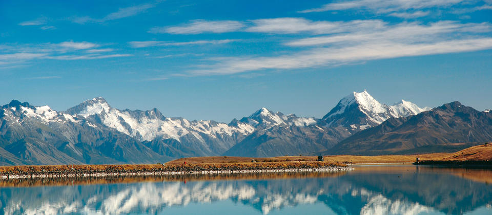 Mount Cook Reflection