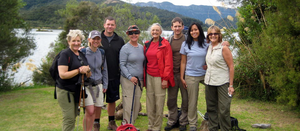 Small, fun groups of 4 - 12 hikers.