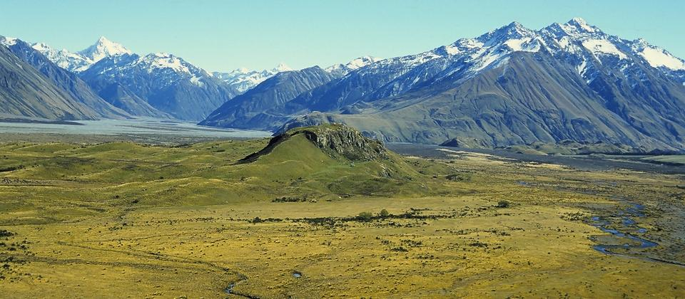 Spectacular scenery on the Lord of the Rings Edoras Tour
