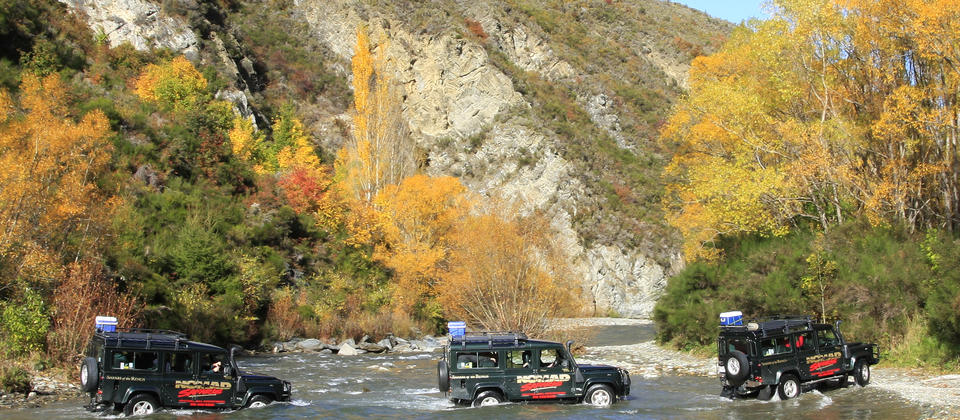 Nomad Safaris 4WD Arrowriver Crossings