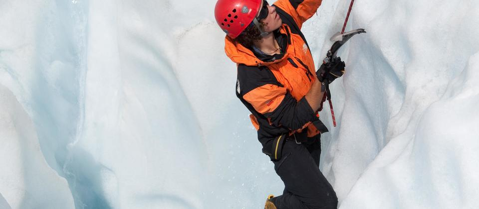 Fox it Up: Ice Climbing Adventure
