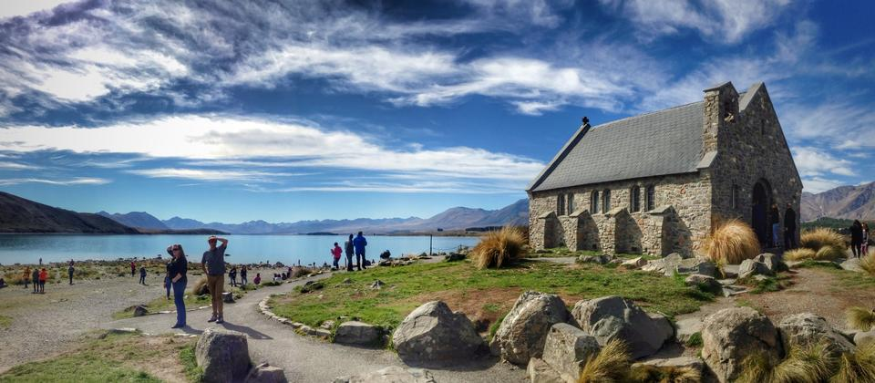 A place for reflection - The Church of the Good Shepherd, Lake Tekapo