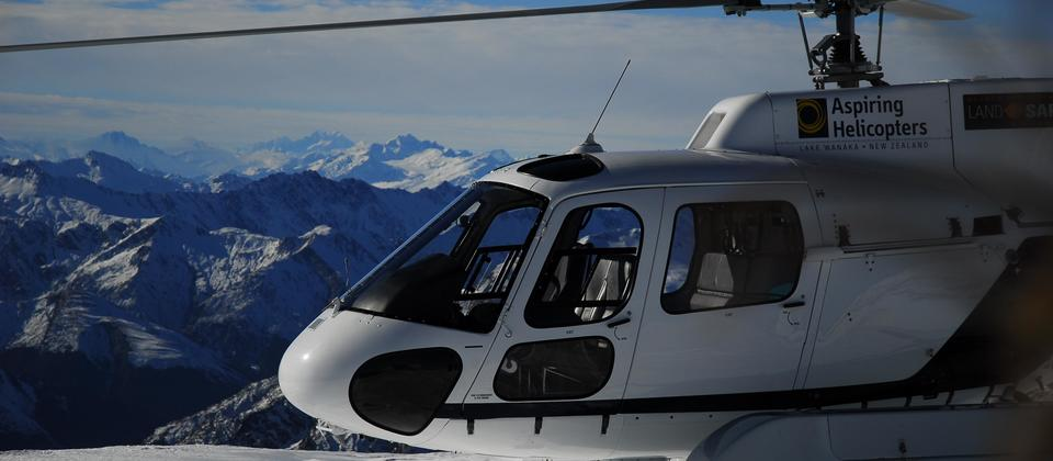 Helicopter safari in Fiordland