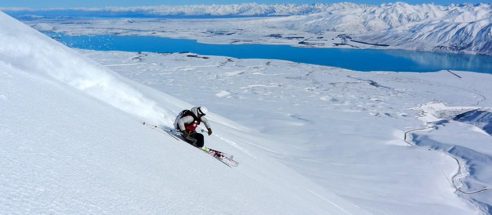 Just some of the fantastic skiing to be had on the Richmond Range.