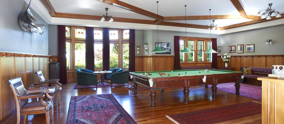 Glen Aros  Country Estate Billiard Room