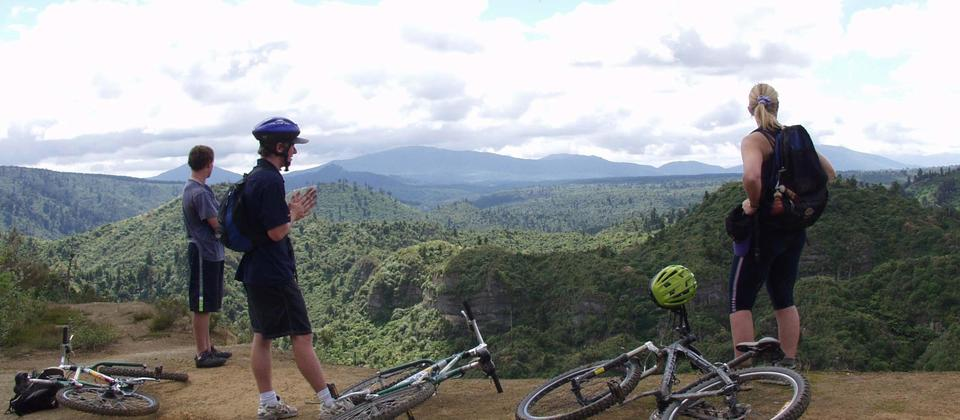 Mountain Biking - Tongariro Mountain Bikes