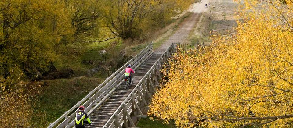 Cycle the Otago Rail Trail, a number of different ways, with Adventure South