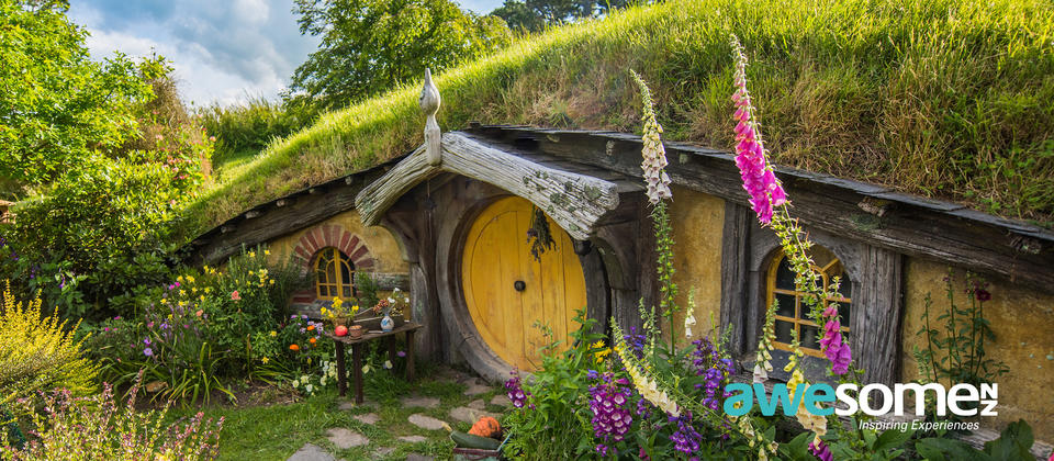 Journey to the world-famous Hobbiton Movie Set