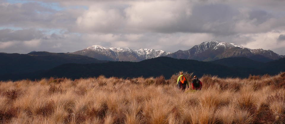 Enjoy the dramatic skies of the Tongariro National Park