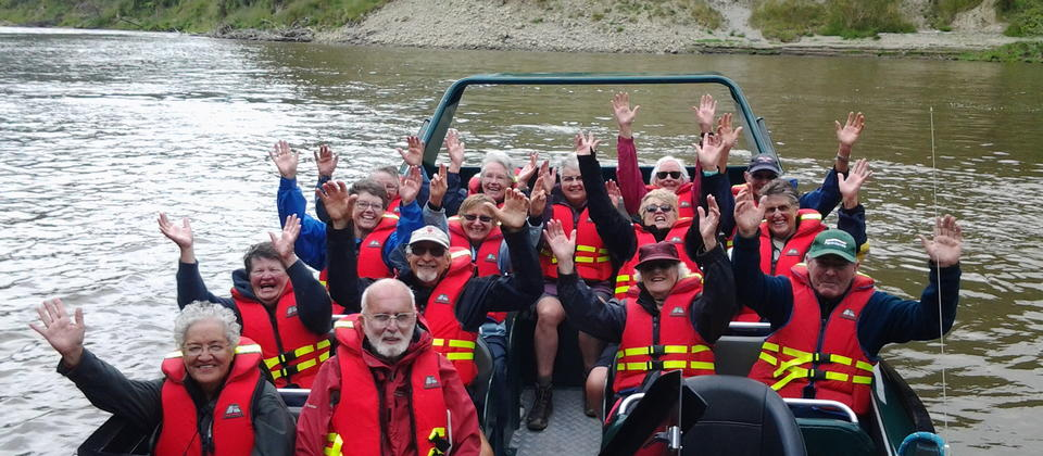 Mangapurua Landing with Whanganui River Adventures