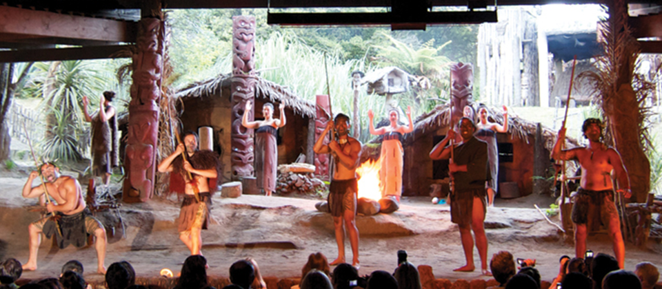 Experience the passion and energy of Maori song, dance and haka (war dances).