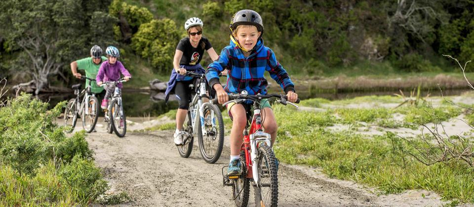 Motu Trails Dune Trail suitable for all ages
