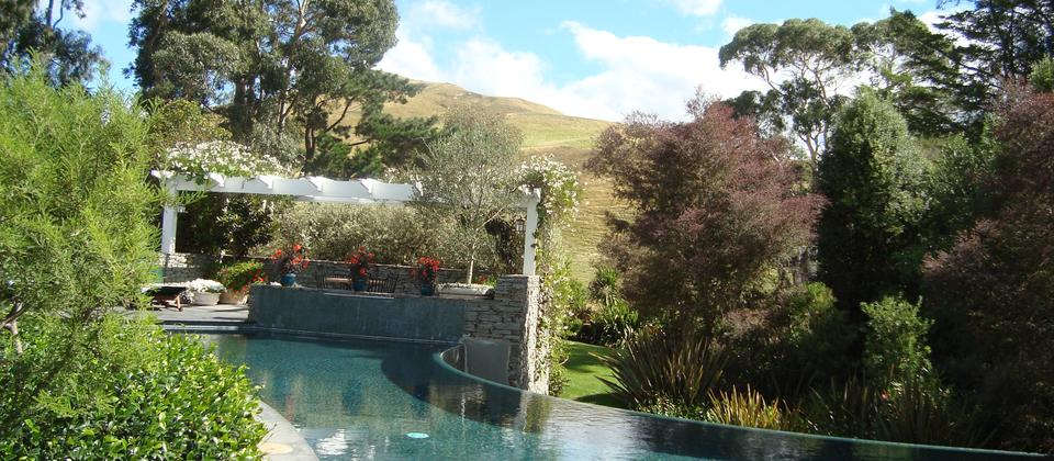 Glen Aros Country Estate Infinity pool