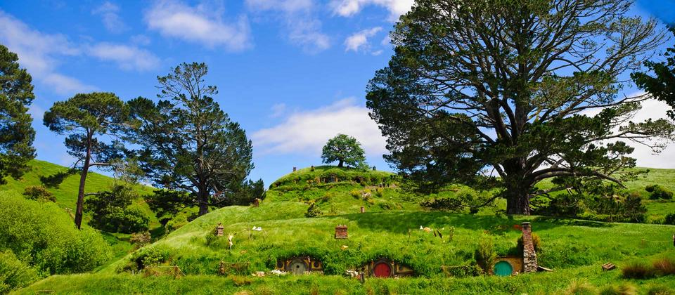 Explore the film set used in The Hobbit & Lord of the Rings Trilogies