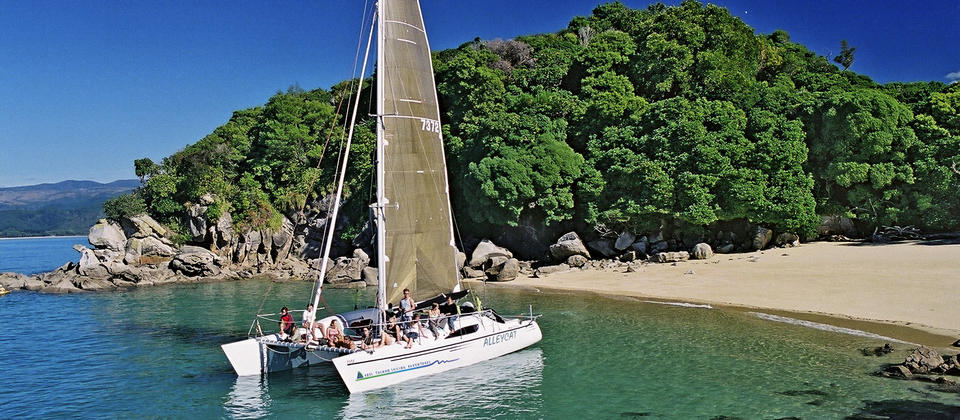 Get closer to the shore with Abel Tasman Sailing Adventures
