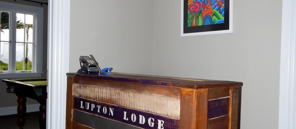 Lupton Lodge Reception