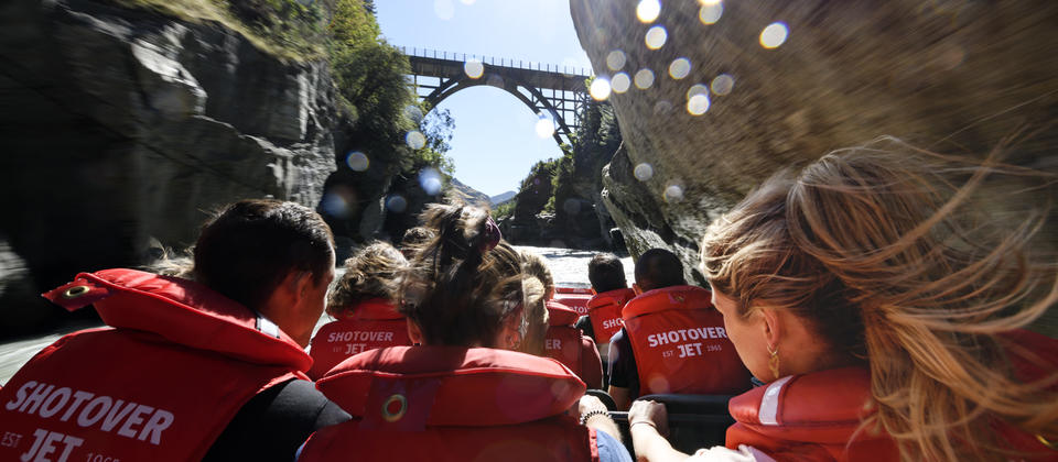 Exclusive access to the famous Shotover Canyons for wall-to-wall action the moment you leave the jetty.