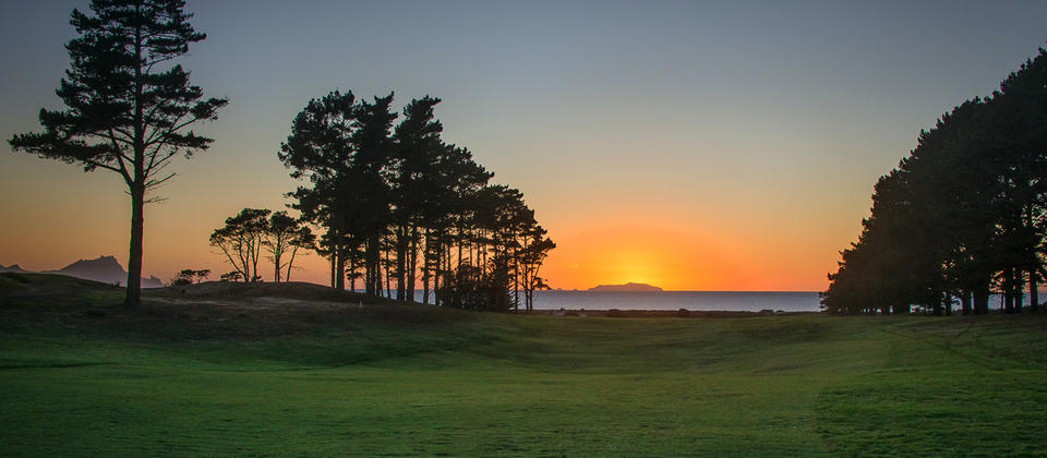Fairway Sunrise from the 8th Green
