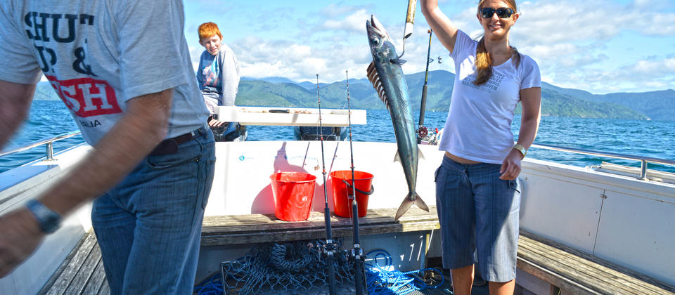 Want to know more about fishing with us in the stunning Queen Charlotte Sound?