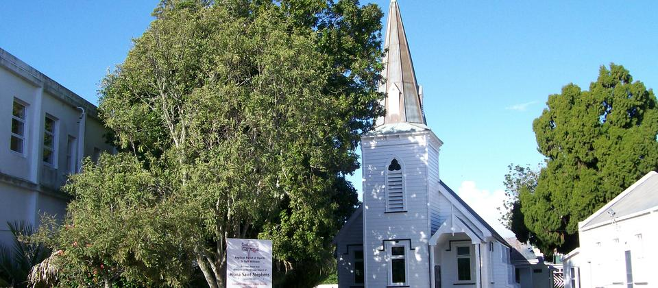 Hiona St Stephens Church in Opotiki