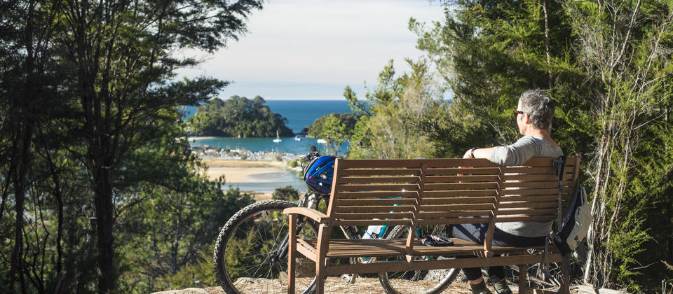 Cycling to the Abel Tasman National Park