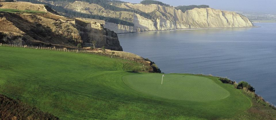Cape Kidnappers Golf Course - Pirates' Planks