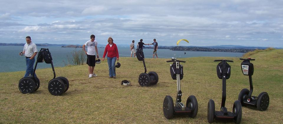 Parked up as we take a walk to enjoy the view and the Fort on North Head.