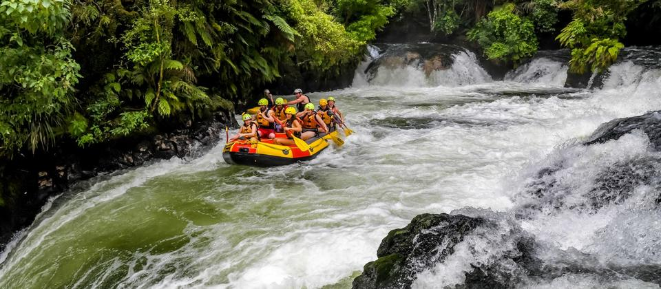 White water rafting tours from Rotorua