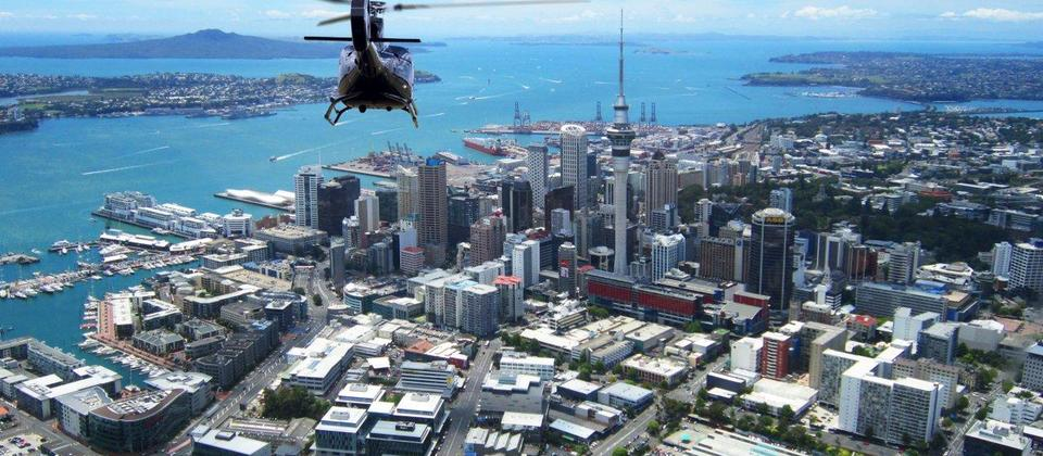 AUCKLAND CITY Helicopter me
