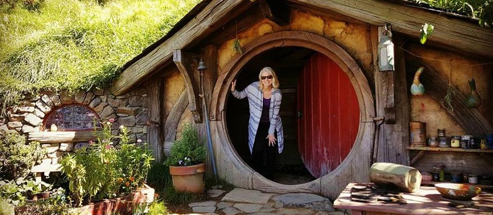 Exploring the Shire in Hobbiton - a must see!!