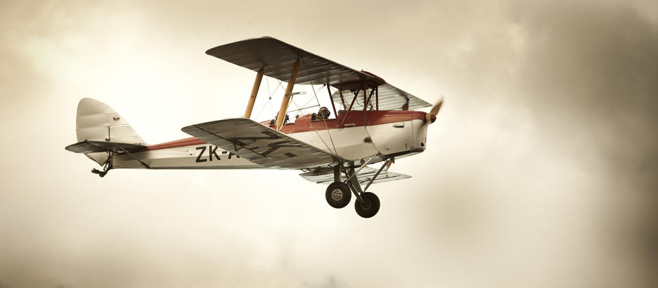 Barnstorming in a vintage 1941 Tigermoth, the best way to experience the halcyon days of aviation.