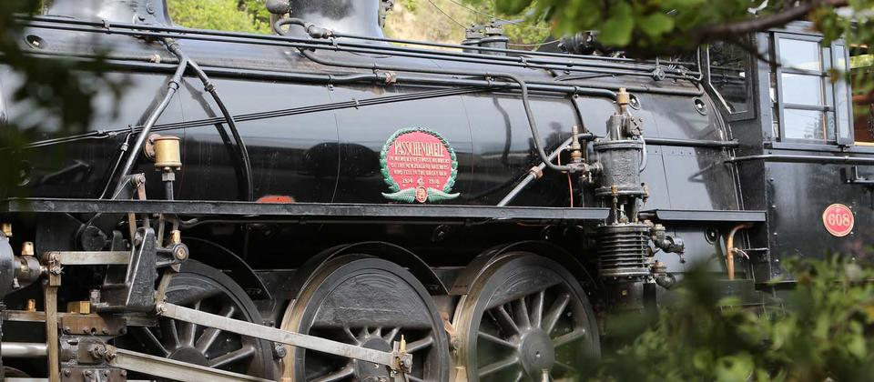The Marlborough Flyer heritage steam train