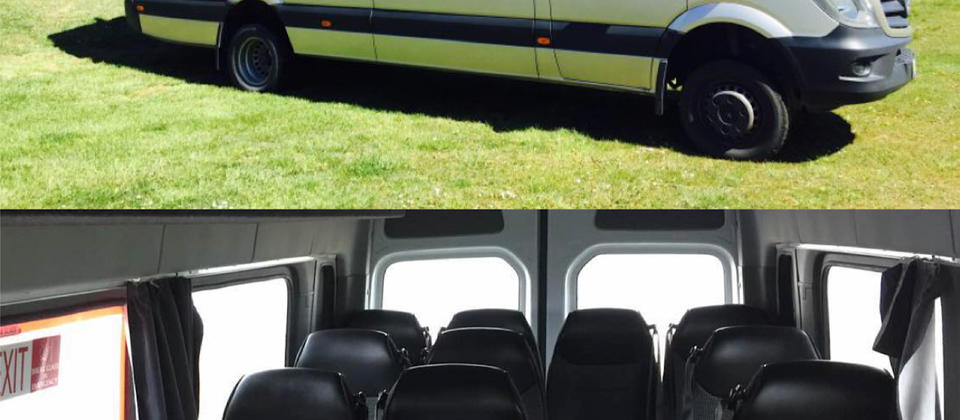 20-seater Mercedes Benz Sprinter