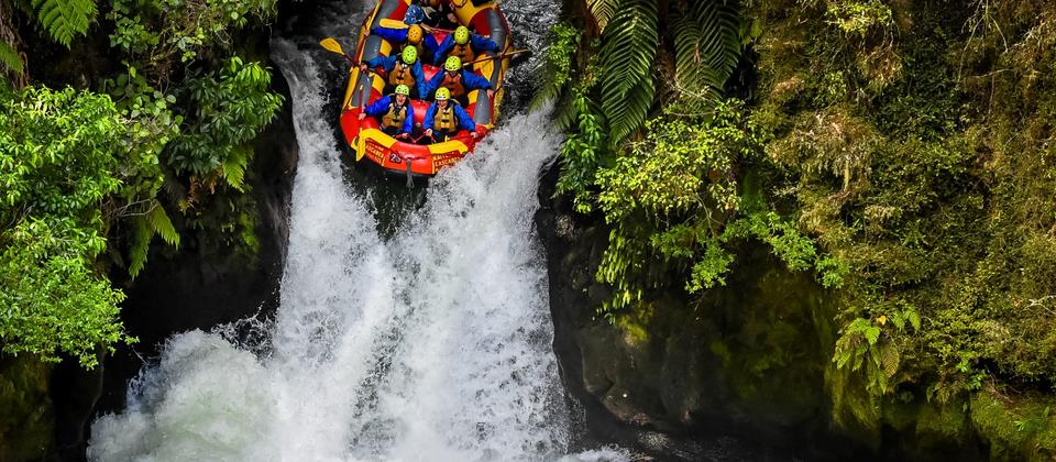 The Best White Water Rafting in New Zealand!