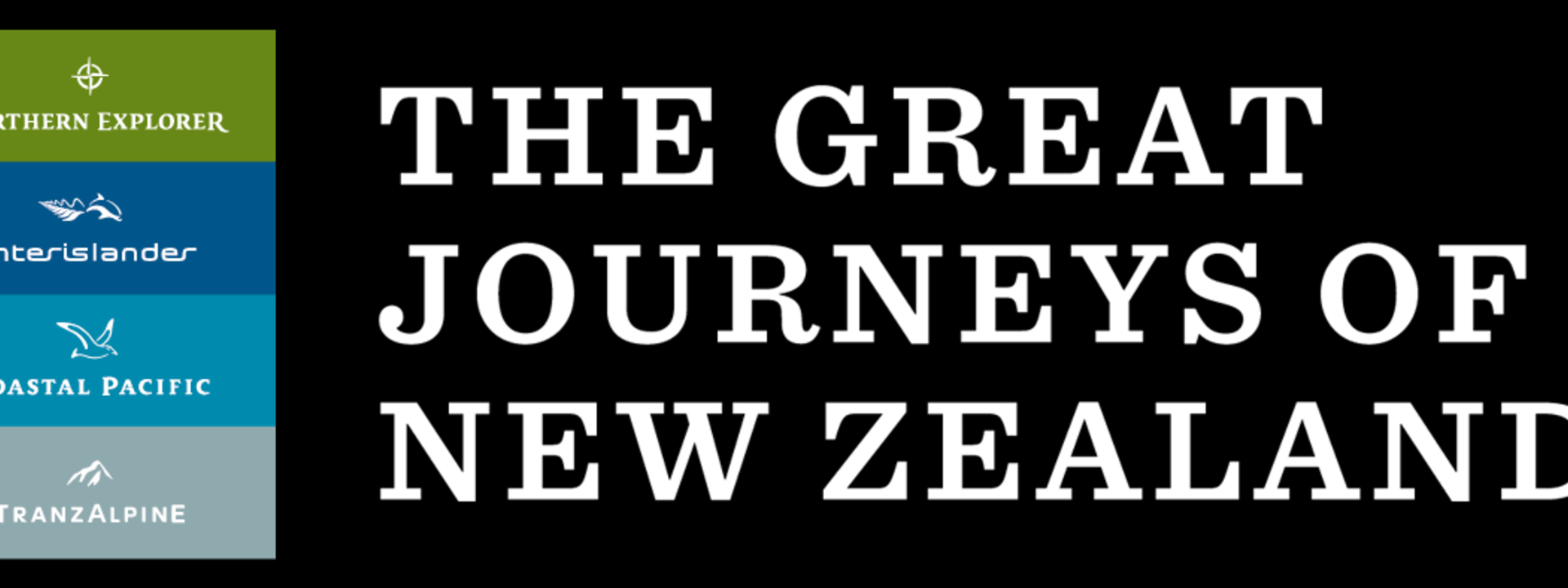 Logo: The Great Journeys of New Zealand