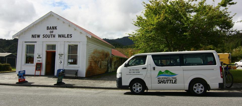 Bank of NSW, Wilderness Trail Shuttle