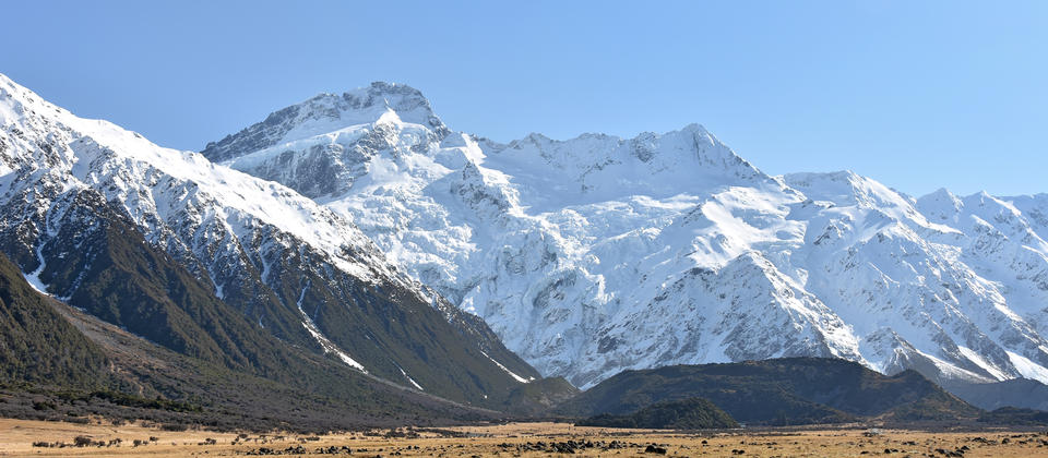 Direct View of Mt Sefton