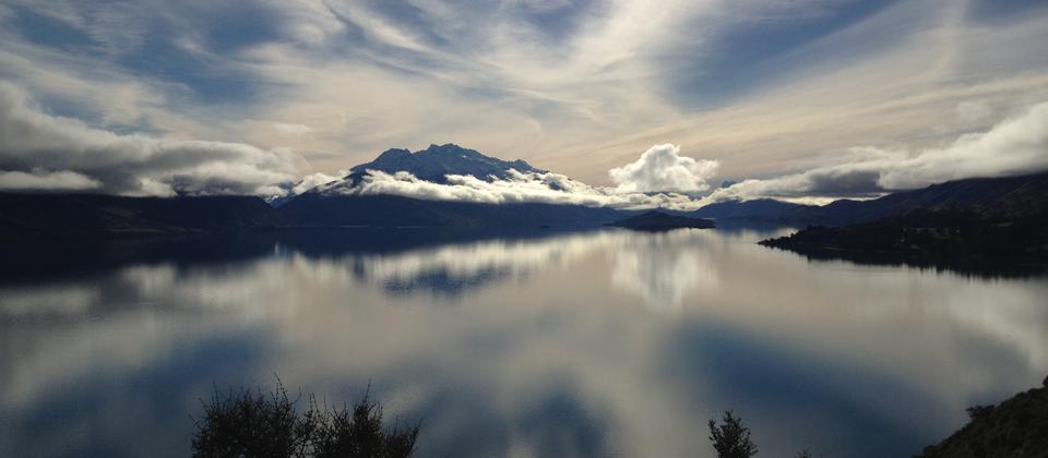 Take the drive to Glenorchy for this view from the Bennet's Bluff lookout
