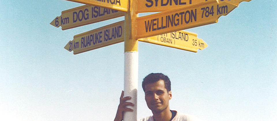 Stirling Point Signpost
