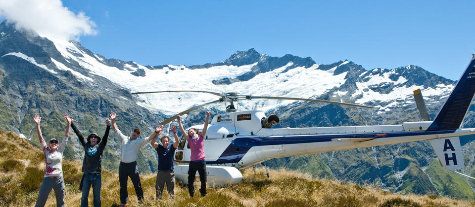 Having fun in the Southern Alps!