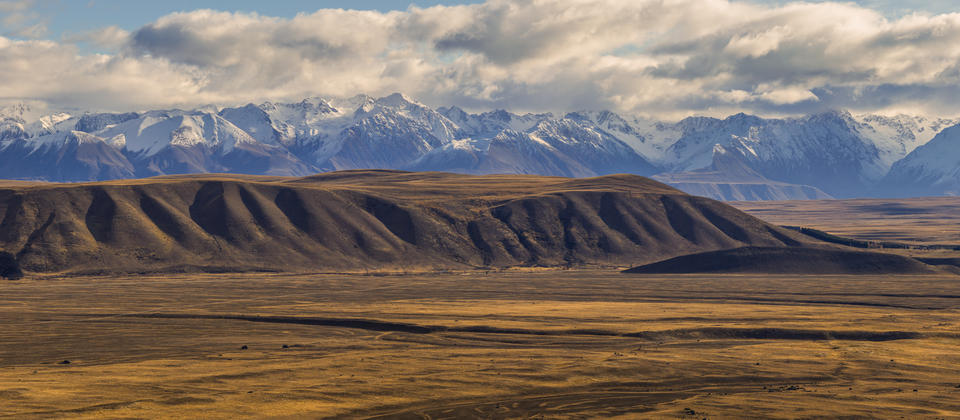 Vast open landscapes of the Mackenzie Country.